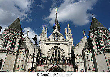 Courthouse - Famous building in London: Royal Court of...