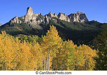 Courthouse mountain, Colorado