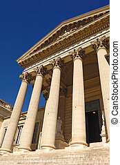 Courthouse( Palais de Justice) of Montpellier, Languedoc-Roussillon Frence