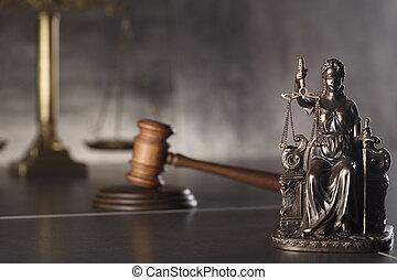 Courtroom concept.