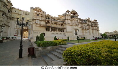 Courtyard at City Palace, Udaipur