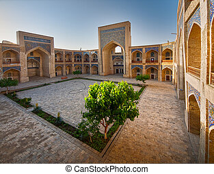 courtyard of a Arabian madrasah - Arabian madrasah...