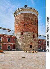 Courtyard of Castle