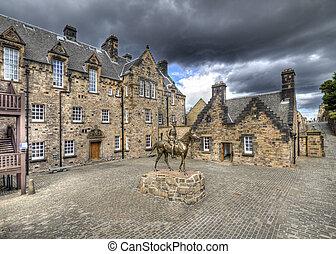 Courtyard of Edinburgh Castle