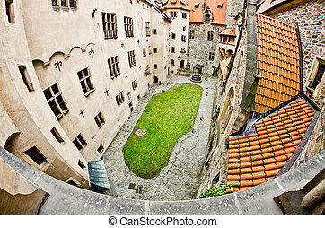 Courtyard of the castle