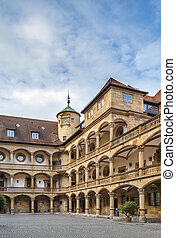 Courtyard of the Old Castle, Stuttgart, Germany