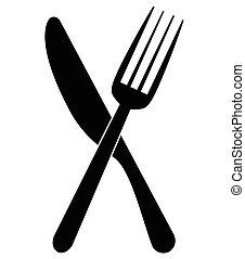 couteau, fourchette