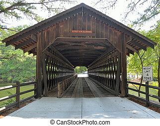 couvert, pont
