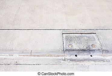 trottoir rue drain trottoir rue route drainage. Black Bedroom Furniture Sets. Home Design Ideas