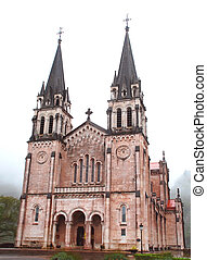 covadonga, Schrein,  asturias, unser, Dame, Spanien
