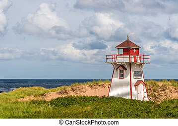 Covehead Lighthouse in Stanhope