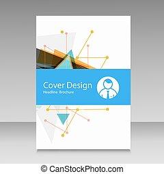 Cover design annual report.