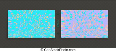 Cover design template. Abstract background with color...