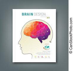 Magazine skull and brain - Cover Magazine skull and brain...