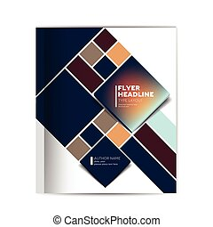 Cover of annual report brochure, flyer, leaflet,...