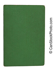 Cover of the Green Paper on a white background