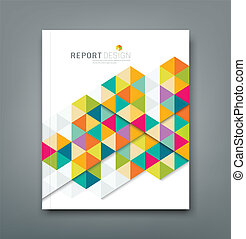 Cover report abstract geometric - Cover report abstract ...