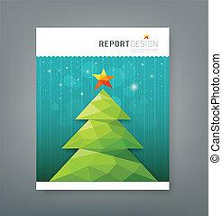 Christmas tree geometry design