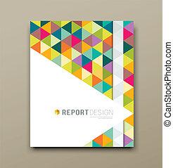Cover report triangle geometric