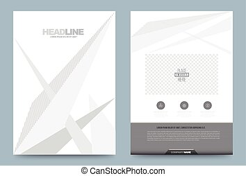 Cover template A4