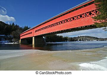 Covered Bridge in Wakefield, Quebec.