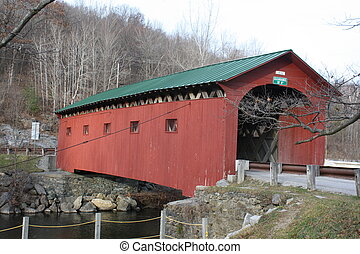Covered Bridge near in West Arlington Vermont