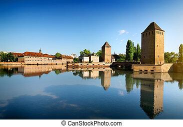Covered bridge Strasbourgh
