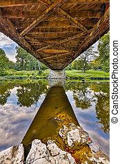 Covered Bridge Underbelly