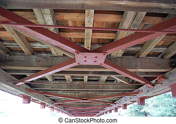 Covered Bridge Underside