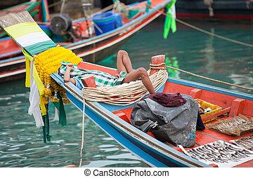 burma fisherman