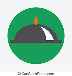 covered dish icon