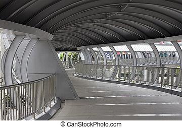 Covered pedestrian walkway-1