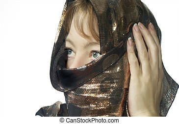 covered woman