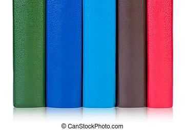 covers., libros, colorido