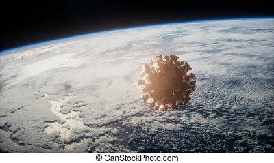 covid-19, coronavirus, astéroïde, la terre
