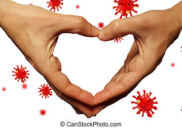 covid-19 coronavirus pandemic financial support aid donate money background - 3d rendering