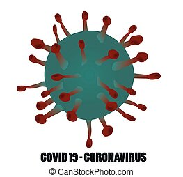 COVID 19- coronavirus. vector illustration
