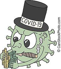 covid, 19, dinero