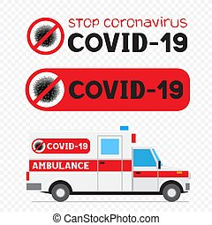 covid-19 stop coronavirus sign symbol