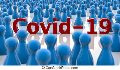 COVID-19 virus infection concept