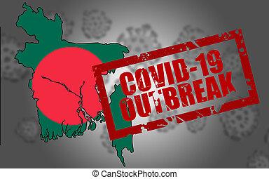Covid-19 virus outbreak in Bangladesh