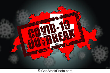 Covid-19 virus outbreak in Switzerland