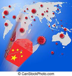 COVID-19 Virus Outbreak of the World.