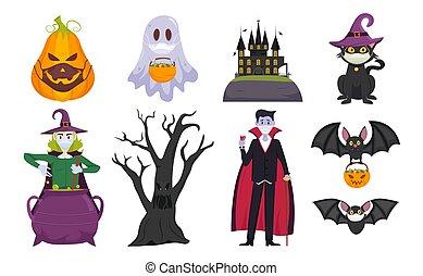 covid, halloween, collezione