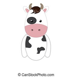 cow animal cartoon