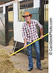 cow-boy, fonctionnement, écurie