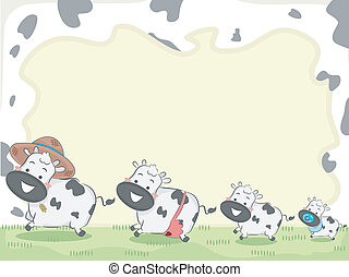 Cow Family Background