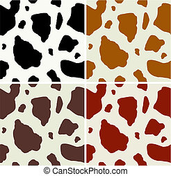 Cow print pattern. Vector available