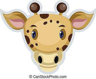 Cow, vector color illustration.