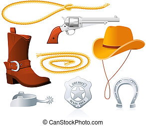 cowboy, accessori